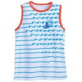 Mickey Mouse Ringer Tank Top for Boys