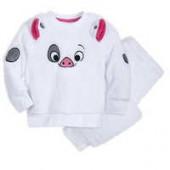 Pua Fuzzy Pajama Set for Kids - Moana
