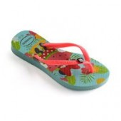 Minnie Mouse Tropical Flip Flops for Kids by Havaianas