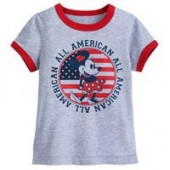 Minnie Mouse Americana T-Shirt for Girls