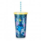 Stitch Tumbler with Straw - Large