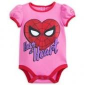 Spider-Man Heart Cuddly Bodysuit for Baby