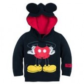I Am Mickey Mouse Pullover Hoodie for Baby