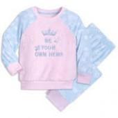 Disney Princess Fuzzy Pajama Set for Kids