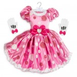Minnie Mouse Pink Dress Costume for Kids