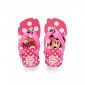 Minnie Mouse Pink Flip Flops for Baby by Havaianas