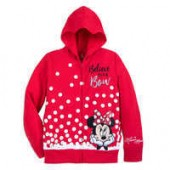 Minnie Mouse Sequined Hoodie for Girls