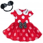 Minnie Mouse Costume Bodysuit for Baby - Red