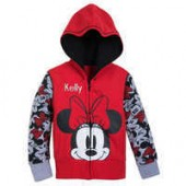 Minnie Mouse Hoodie for Girls - Personalizable