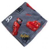 Lightning McQueen Fleece Throw - Personalizable - Cars