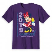 Minnie Mouse Family Vacation T-Shirt for Kids - Disneyland 2019 - Customized