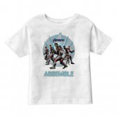 Marvel's Avengers: Endgame - Avengers Group Stance T-Shirt for Boys - Customized