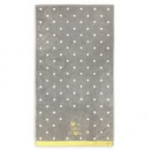 Minnie Mouse Love You More Gold Bath Towel