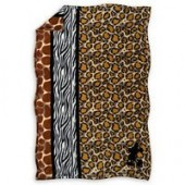 Mickey Mouse Animal Print Throw - Disneys Animal Kingdom