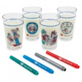 Disney Cruise Line Drinkware and Marker Set