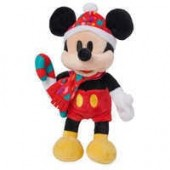 Mickey Mouse Holiday Plush - Mini Bean Bag