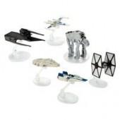 Star Wars: The Last Jedi Die Cast Starships Set - Hot Wheels