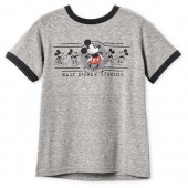 Mickey Mouse Ringer T-Shirt for Boys - Walt Disney Studios