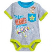 Toy Story Cuddly Bodysuit for Baby