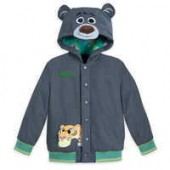 Jungle Book Hooded Jacket for Boys - Disney Furrytale friends - Personalizable