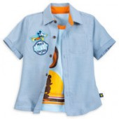 Mickey Mouse Surf Woven Shirt Set for Boys