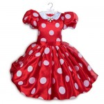Minnie Mouse Red Dress Costume for Kids