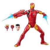 Invincible Iron Man Action Figure - Black Panther Legends Series