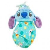 Stitch Plush in Pouch - Disney Babies - Small
