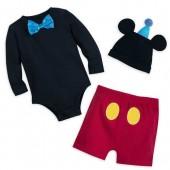 Mickey Mouse Tuxedo Bodysuit Set for Baby - Walt Disney World
