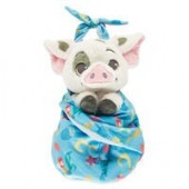 Pua Plush with Blanket Pouch - Disneys Babies - Small
