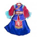 Mulan Deluxe Costume For Kids
