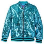 Jasmine Sequined Bomber Jacket for Girls - Aladdin