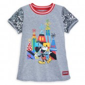 Mickey Mouse Celebration Sequin T-Shirt for Girls - Disneyland