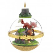 The Fox and the Hound Disney Duos Sketchbook Ornament - July - Limited Release