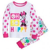 Minnie Mouse Oh So Happy PJ PALS for Girls