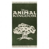 Disneys Animal Kingdom 20th Anniversary Beach Towel