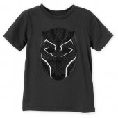 Black Panther Mask T-Shirt for Kids