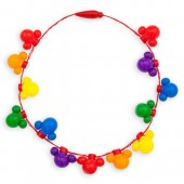 Rainbow Disney Collection Mickey Mouse Light-Up Necklace