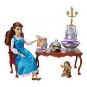 Belle Classic Doll Dinner Party Play Set - Beauty and the Beast