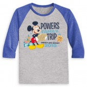 Mickey Mouse Family Vacation Raglan Shirt for Kids - Disneyland 2019 - Customized