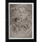 Steamboat Willie ''Full Steam Ahead'' Limited Edition Giclee by Noah