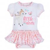Bambi Skirted Bodysuit for Baby