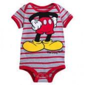 Mickey Mouse Striped Bodysuit for Baby - Walt Disney World