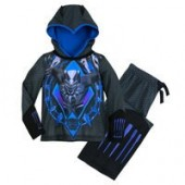 Black Panther Hooded Sleep Set for Boys