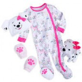101 Dalmatians Gift Set for Baby - Pink