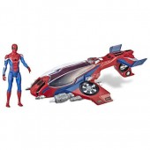 Spider-Man: Far From Home Action Figure with Spider-Jet Vehicle