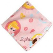 Belle, Cinderella, and Sleeping Beauty Fleece Throw - Personalizable