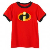 Incredibles Logo Ringer T-Shirt for Kids