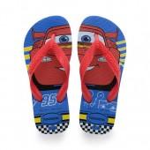 Lightning McQueen Flip Flops for Kids by Havaianas