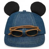 Mickey Mouse Hat and Sunglasses Set for Baby